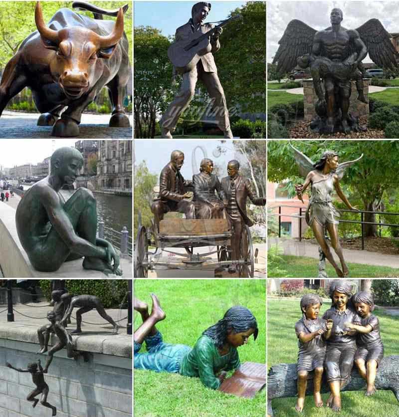 Life Size Bronze Dancer Statue