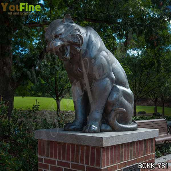 Outdoor Large Size Antique Bronze Tiger Statue for Decor from Factory Supply BOKK-781