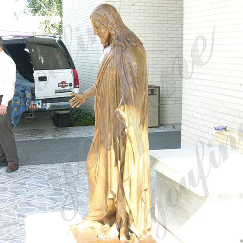 Religious Bronze Jesus Sculpture
