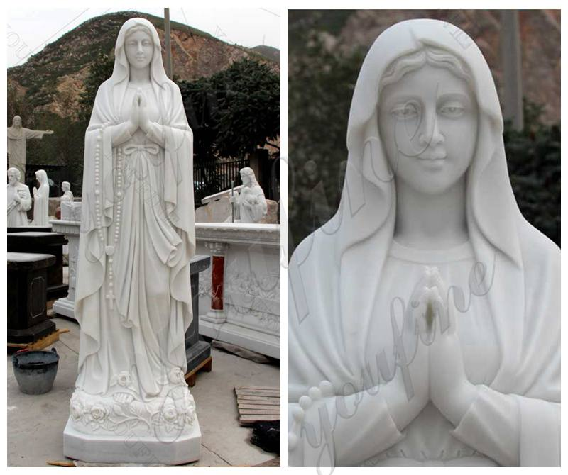 Religious Statue Our Lady of Lourdes Statue for Sale for Garden Decor
