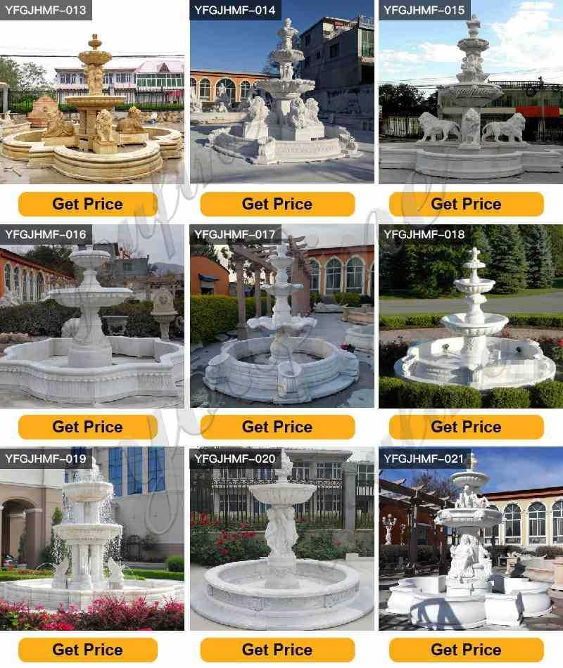 marble fountain for garden