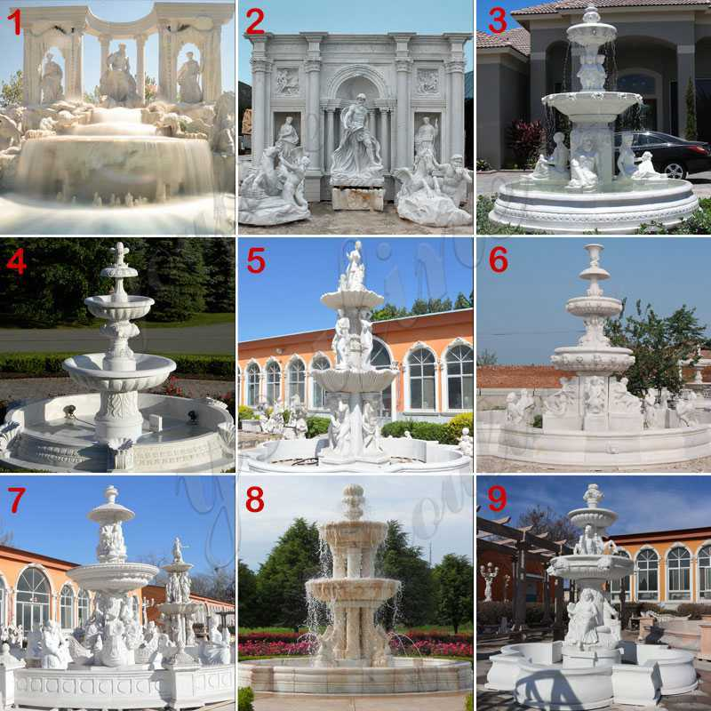 outdoor Marble Fountain for sale