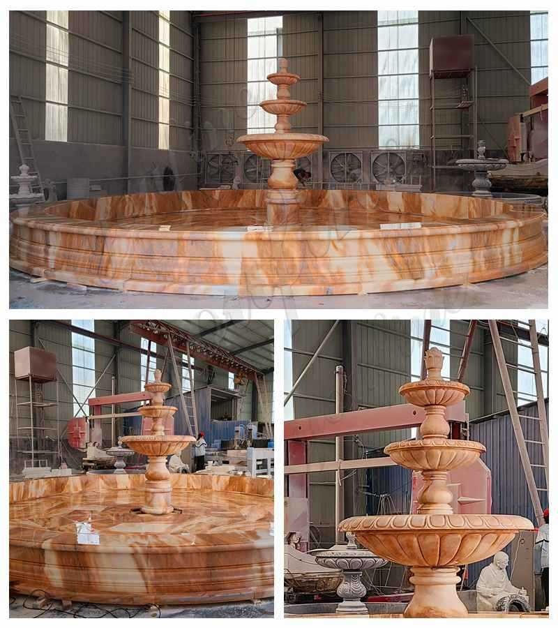 3 tiered water fountain