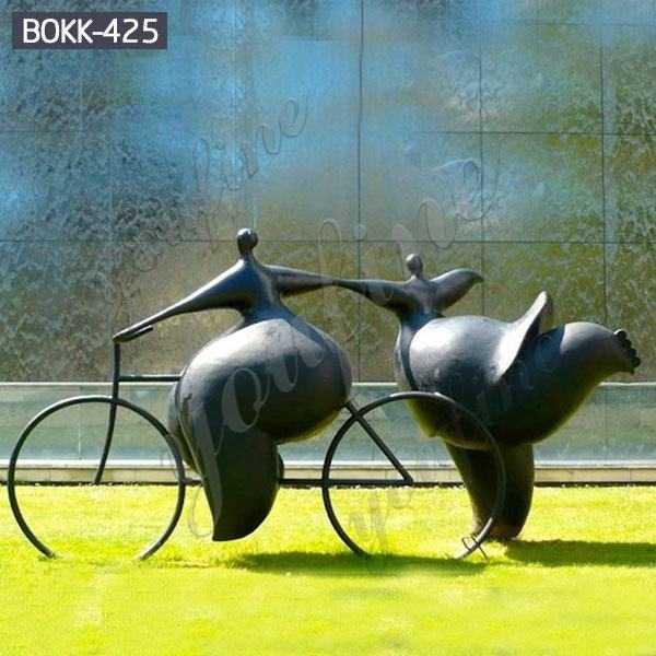 Abstract Artistic Bronze Grosse Femme Sculpture Manufacturer BOKK-425
