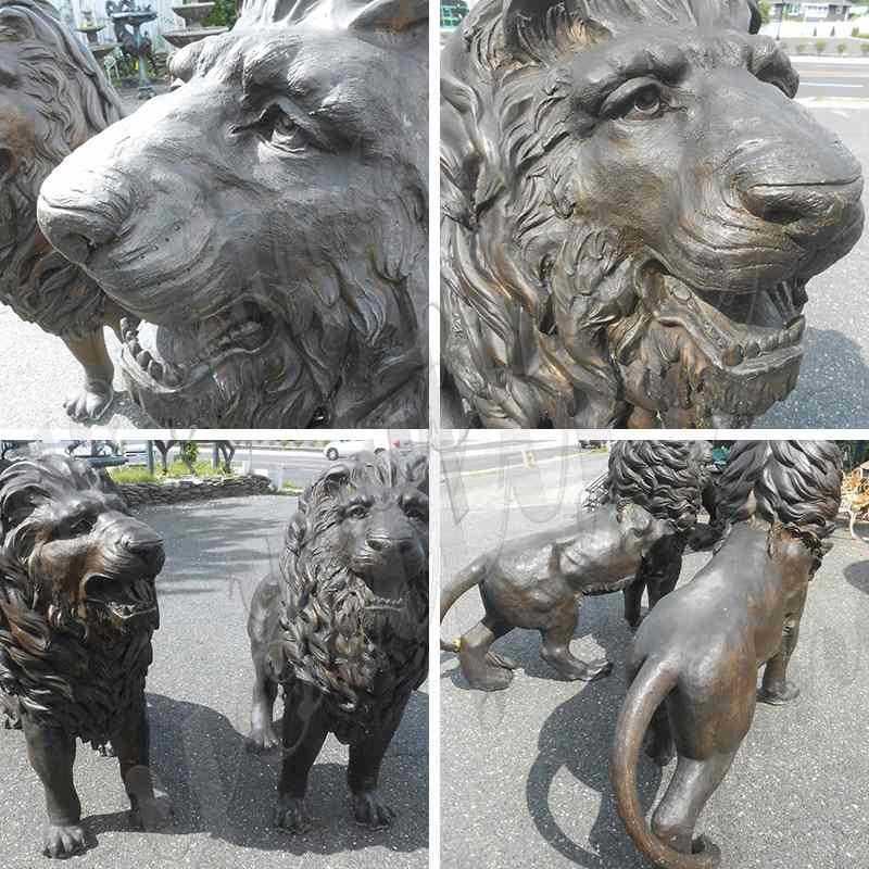 Bronze Animal Statue of Lion