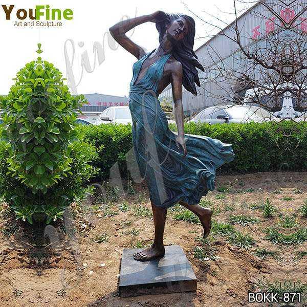 Bronze Female Garden Statue Suppliers