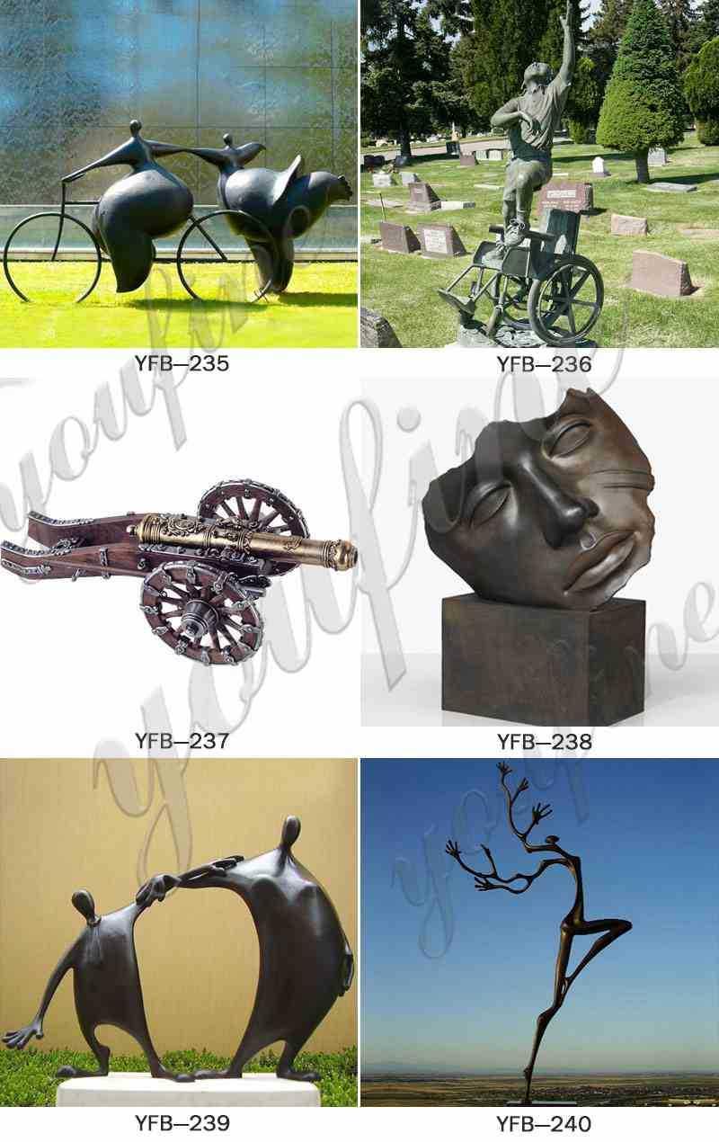 Bronze Grosse Femme Sculpture