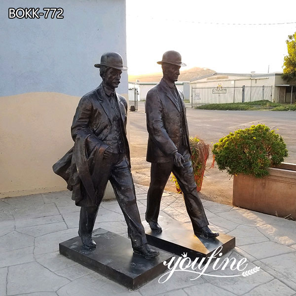 Bronze Wilbur and Orville Wright Staute