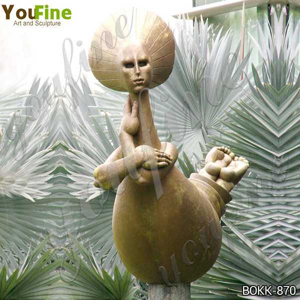 Famous Bronze Wealth Abstract Woman Sculpture Replica Suppliers