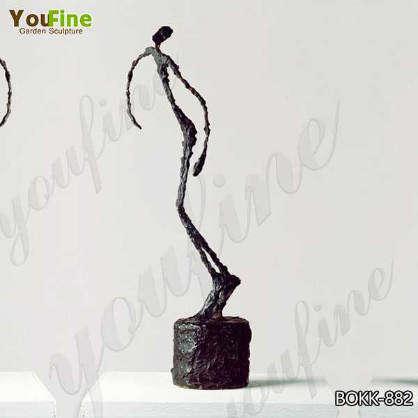 Giacometti Falling Man Bronze Sculpture Factory Supply