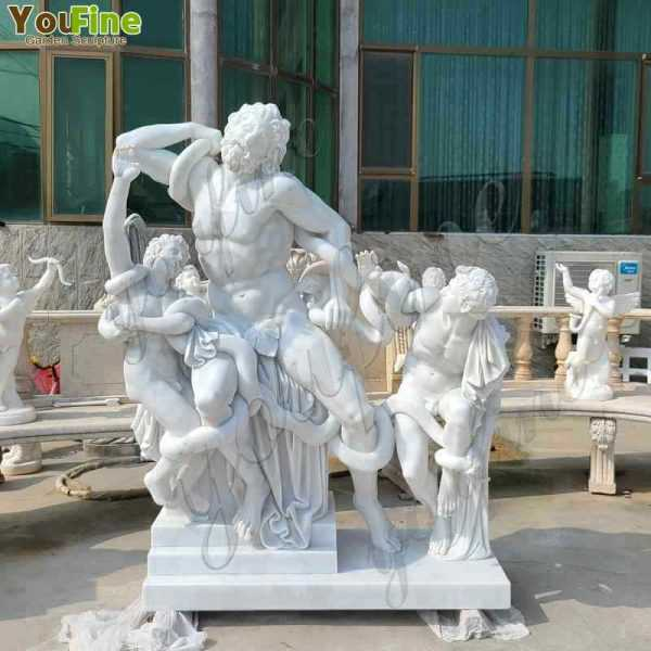 Laocoon and his sons sculptures