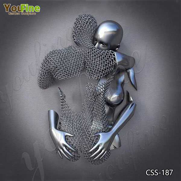Love Design Stainless Steel Man Body Sculpture for Sale