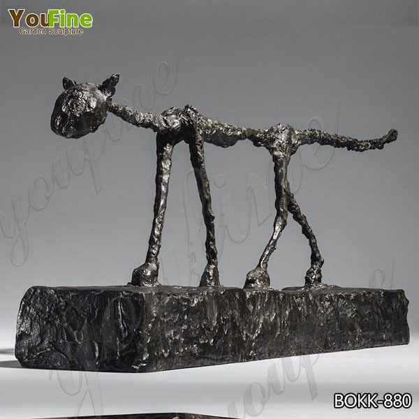 Modern Abstract Bronze Cat Sculpture By Giacometti for Sale BOKK-880