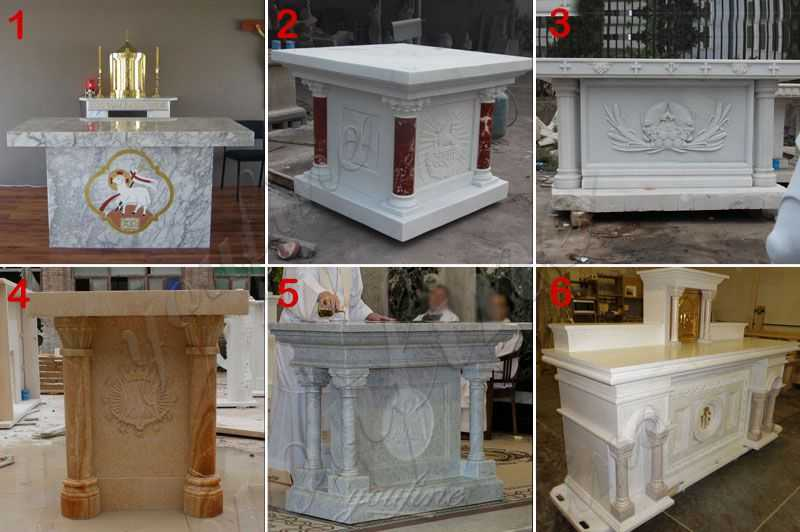 Natural-Marble-Material-Modern-Church-altar-Designs