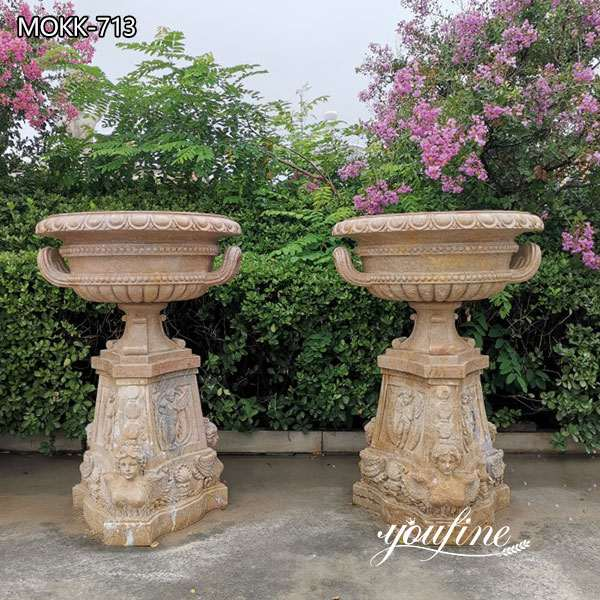 large marble planter for sale