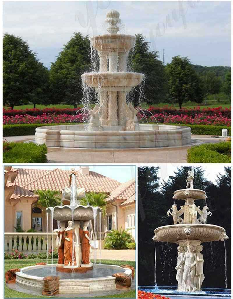 marble fountain for garden