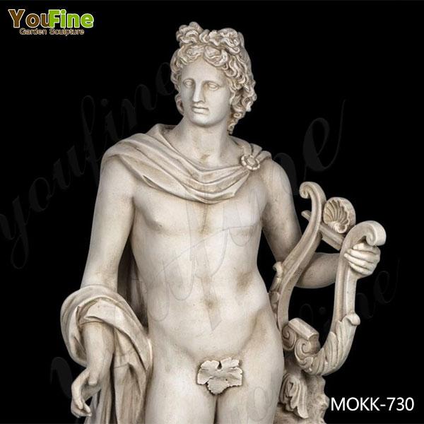 Apollo with Lyre Life Size Statue