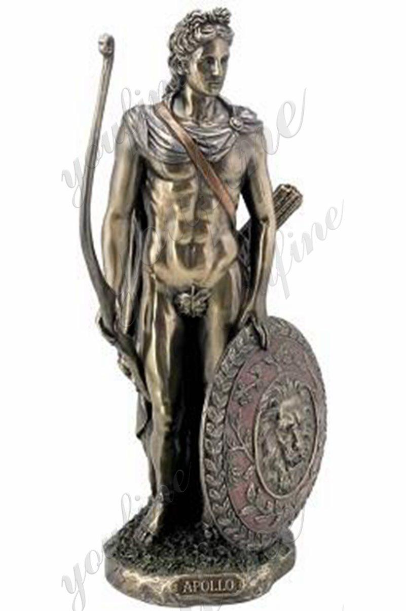Bow and arrows Apollo statue