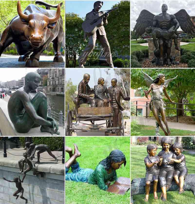 Custom made bronze statue for sale