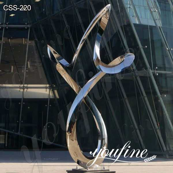 Garden Art Outdoor Stainless Steel Ring Sculpture Factory Direct CSS-220