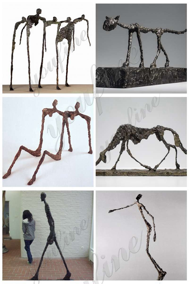 Giacometti's Sculptures for sale