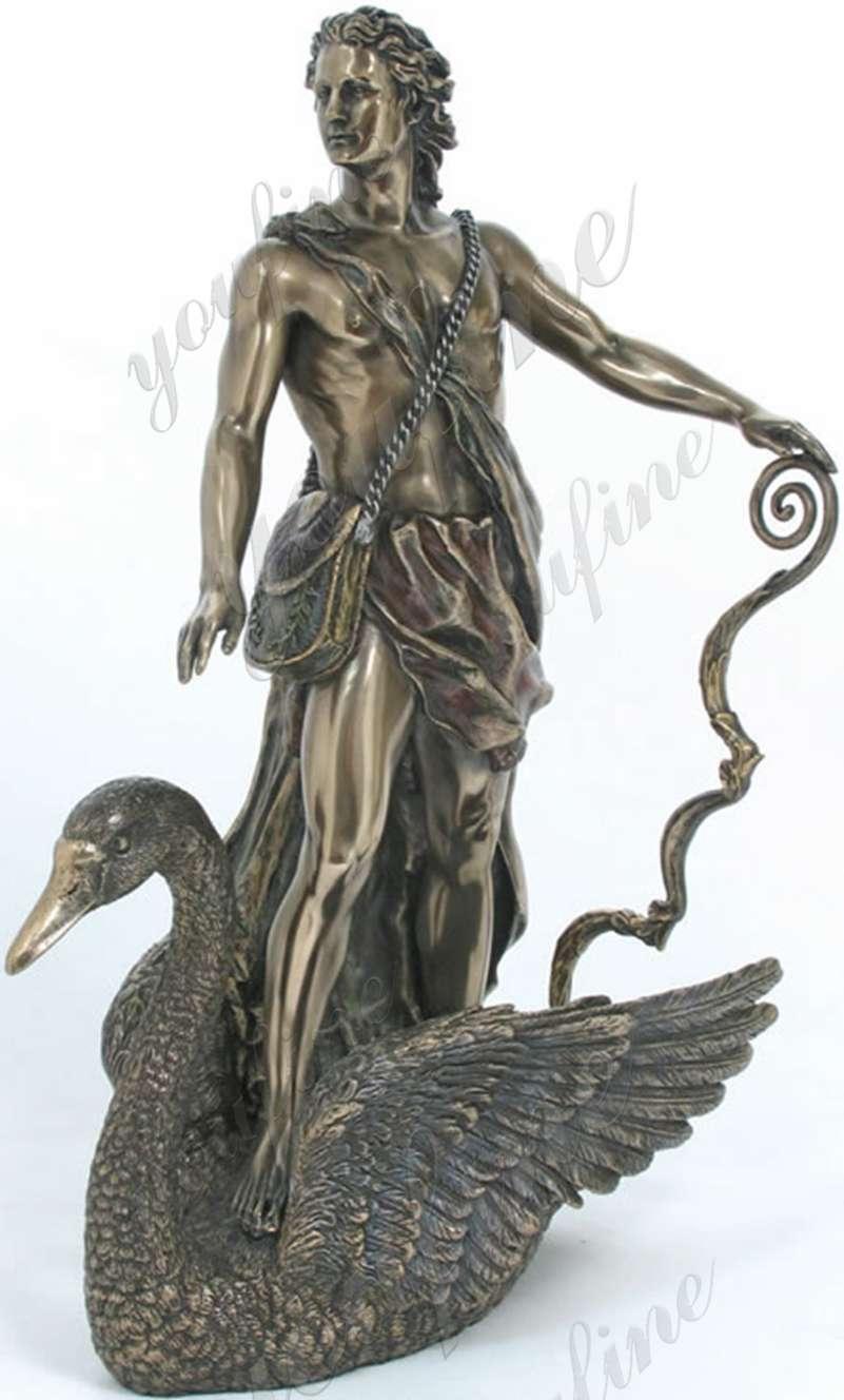 Greek God of the Sun Apollo marble statue