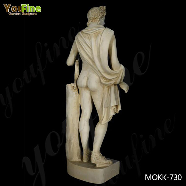 Greek Marble Apollo with Lyre Life Size Statue