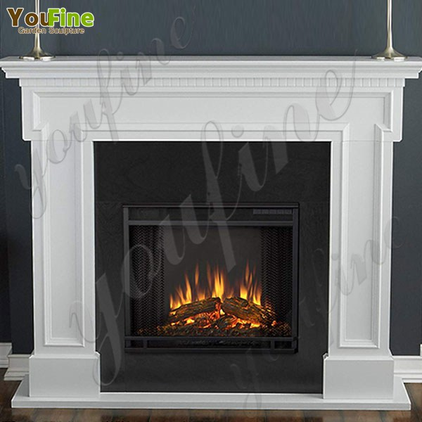 Minimalist Design Modern Marble Fireplace Home Decoration Sale MOKK-497