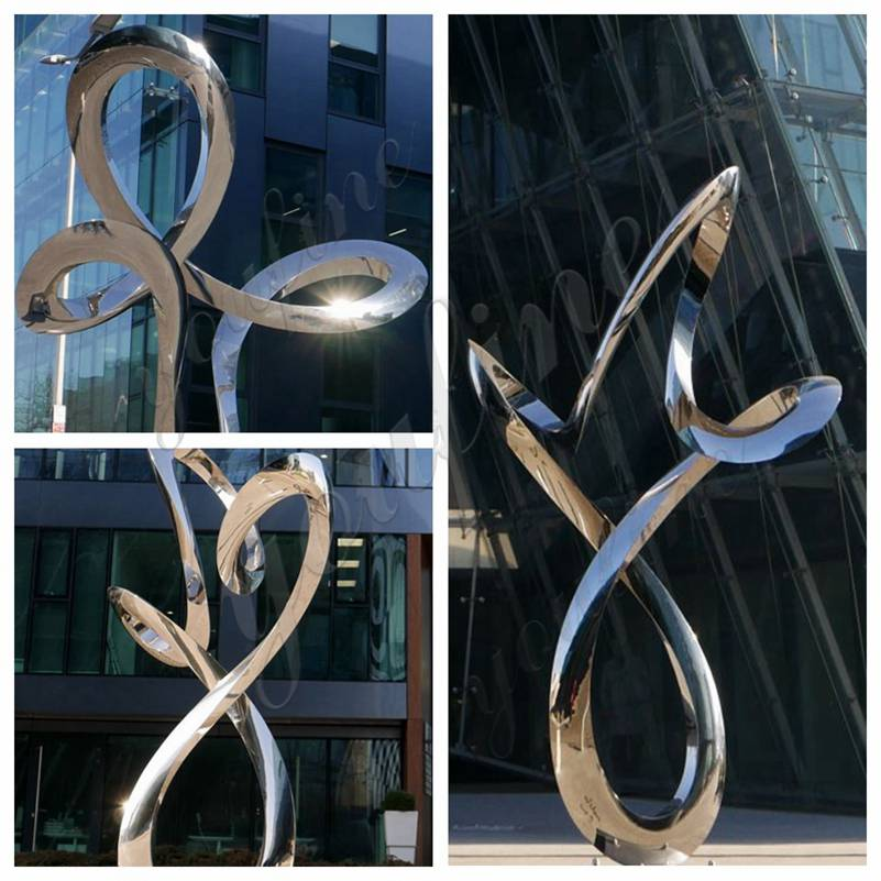 Outdoor Stainless Steel Ring Sculptures