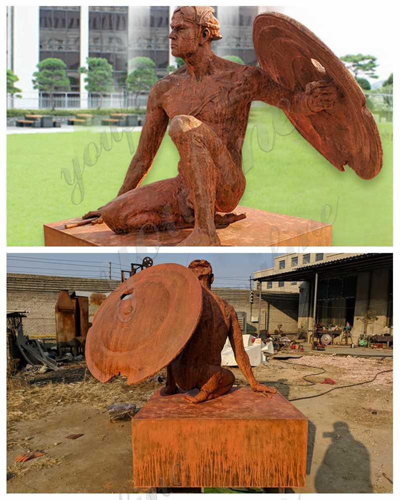 custom made life size bronze statue