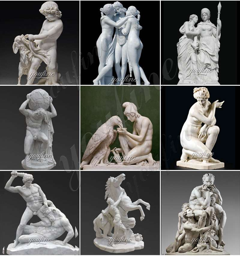 famous marble statues for sale