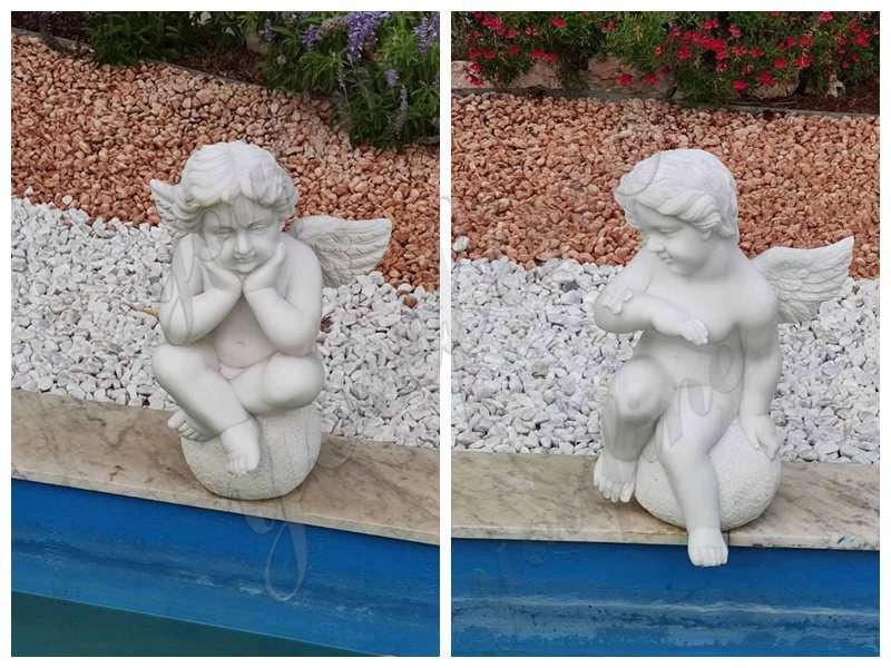 little angel sculptures