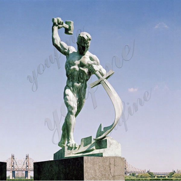 swords to ploughshares sculpture
