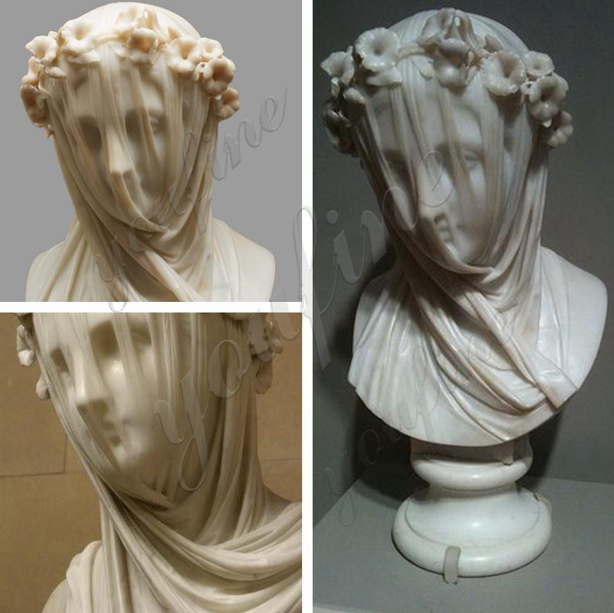 veiled lady sculpture for sale