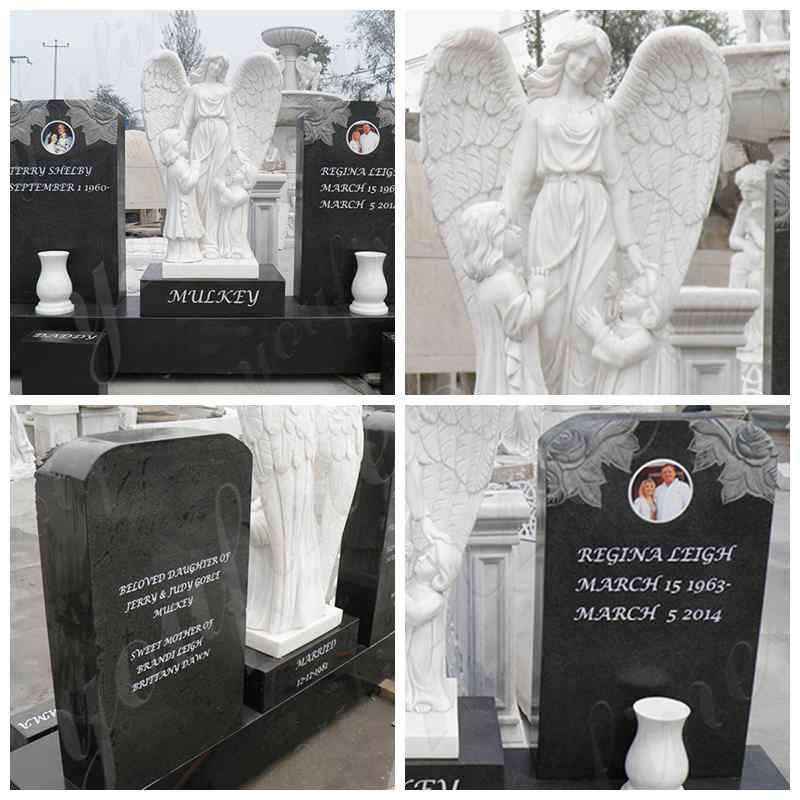 weeping angel headstones for graves