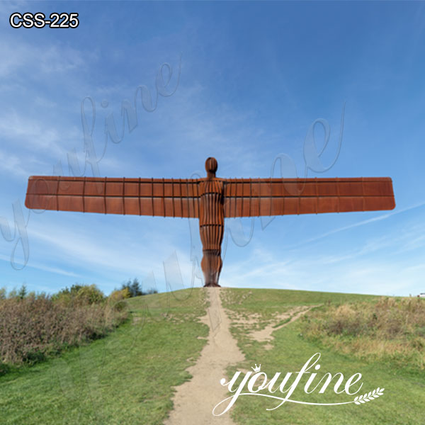 Angel of the North Corten Sculpture for Sale