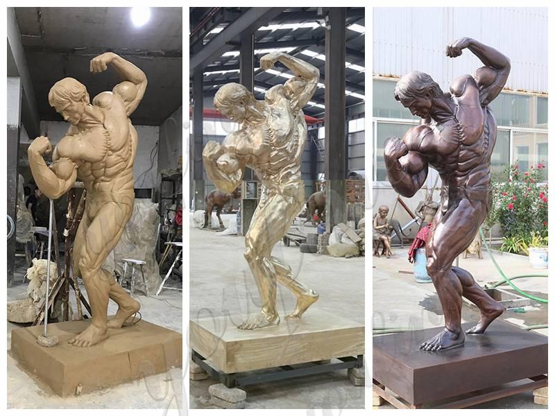 Arnold Schwarzenegger bronze statue