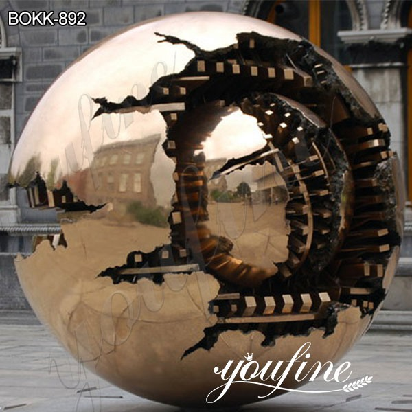 Bronze Sphere within Sphere Sculpture by Arnaldo Pomodoro SuppliersBronze Sphere within Sphere Sculpture by Arnaldo Pomodoro Suppliers