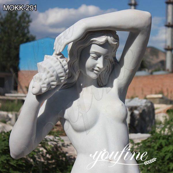 Classic Garden Ferdinando Vichi Sea Nymph Marble Statue