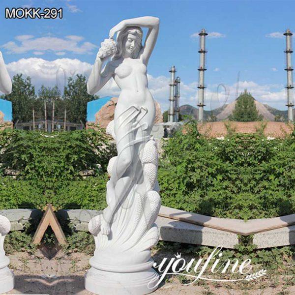 Classic Garden Ferdinando Vichi Sea Nymph Marble Statue Suppliers MOKK-291