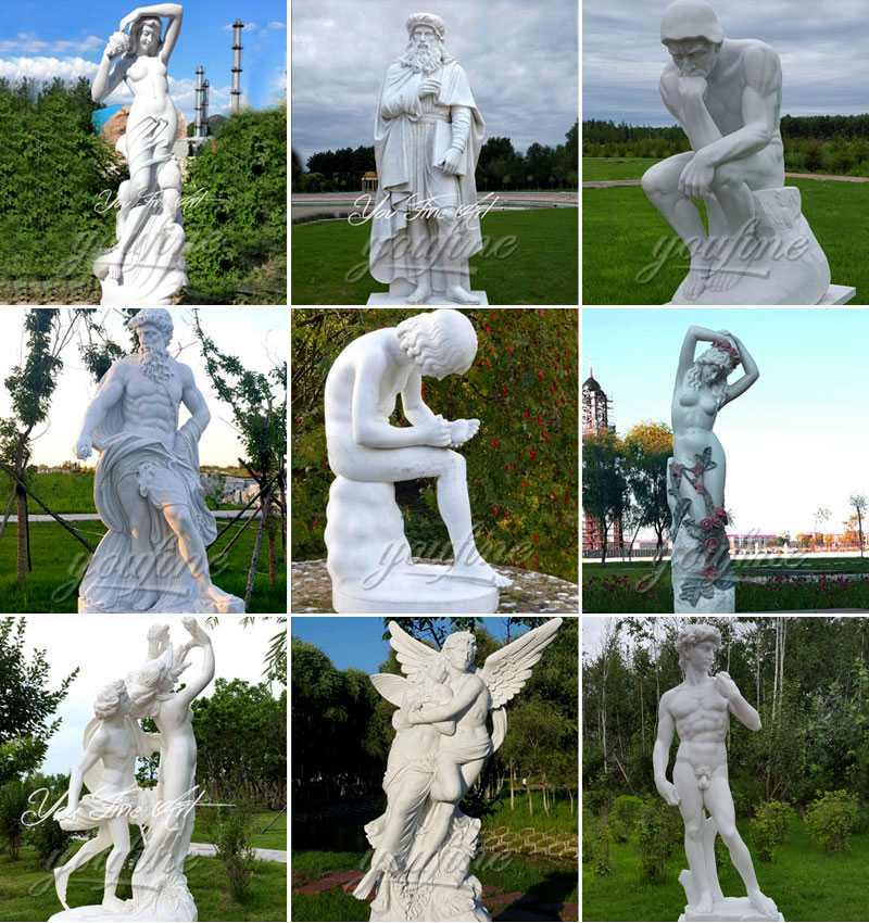 Ferdinando vichi sea nymph statue