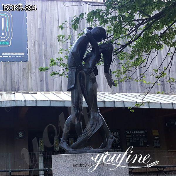 Life Size Romeo and Juliet Bronze Statu