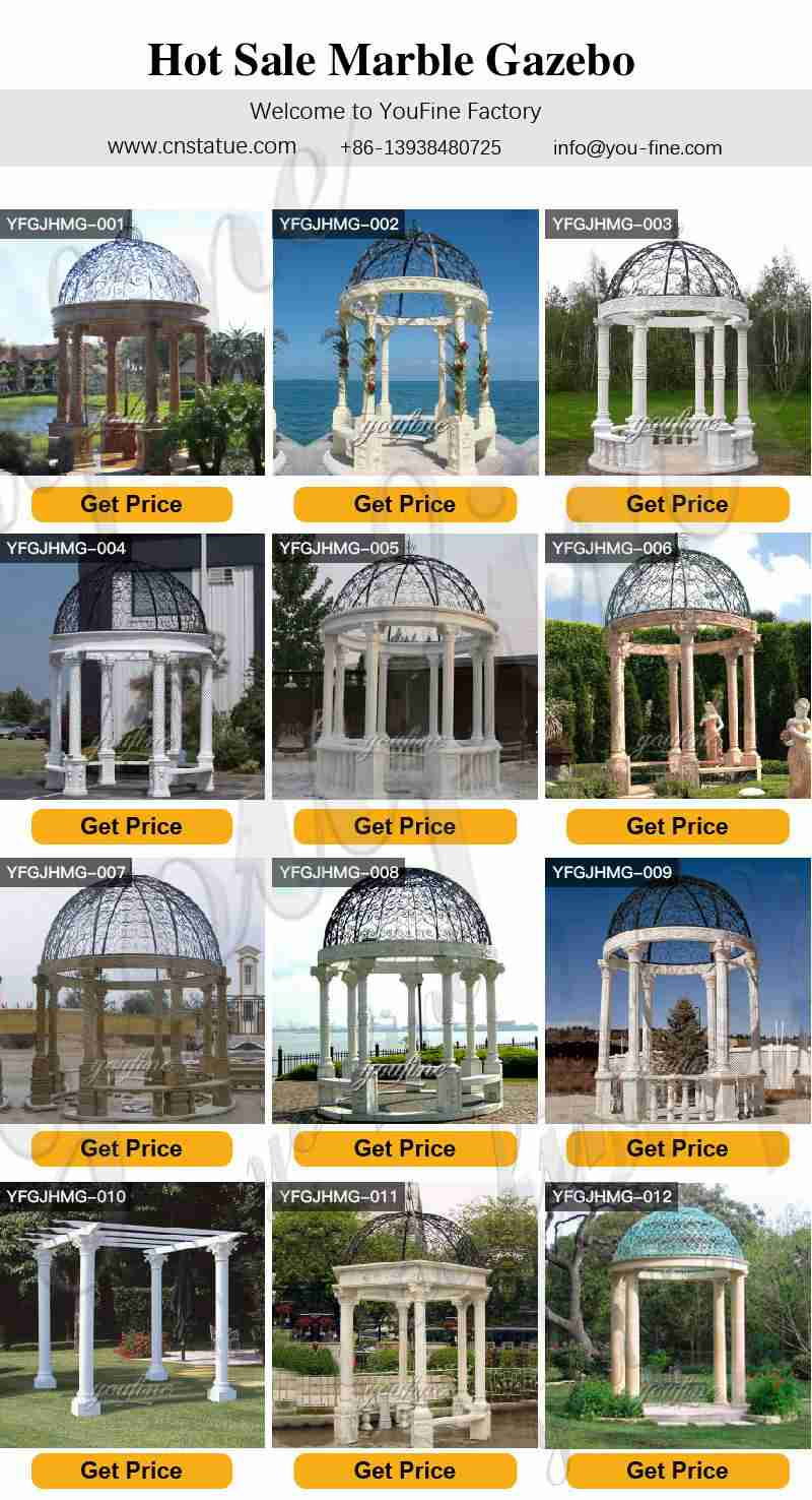Outdoor Marble Gazebo for sale