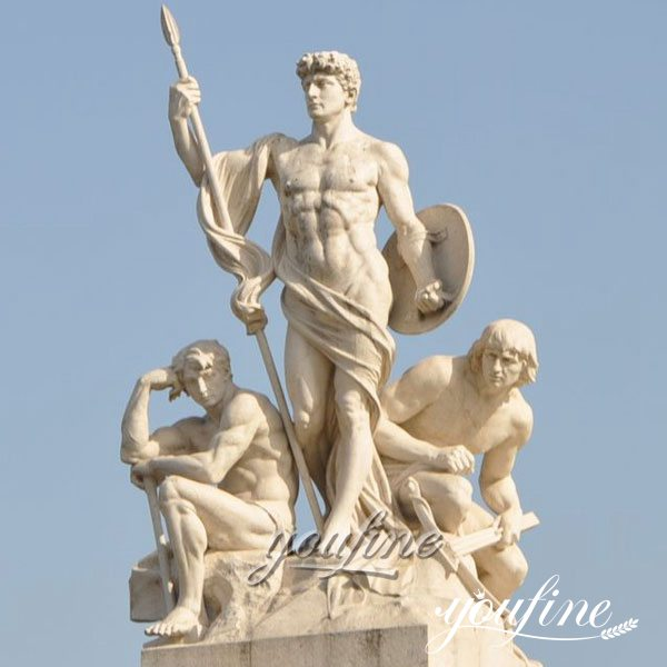 Outdoor Famous Art Human Statue in Rome for Square decor MOKK-247