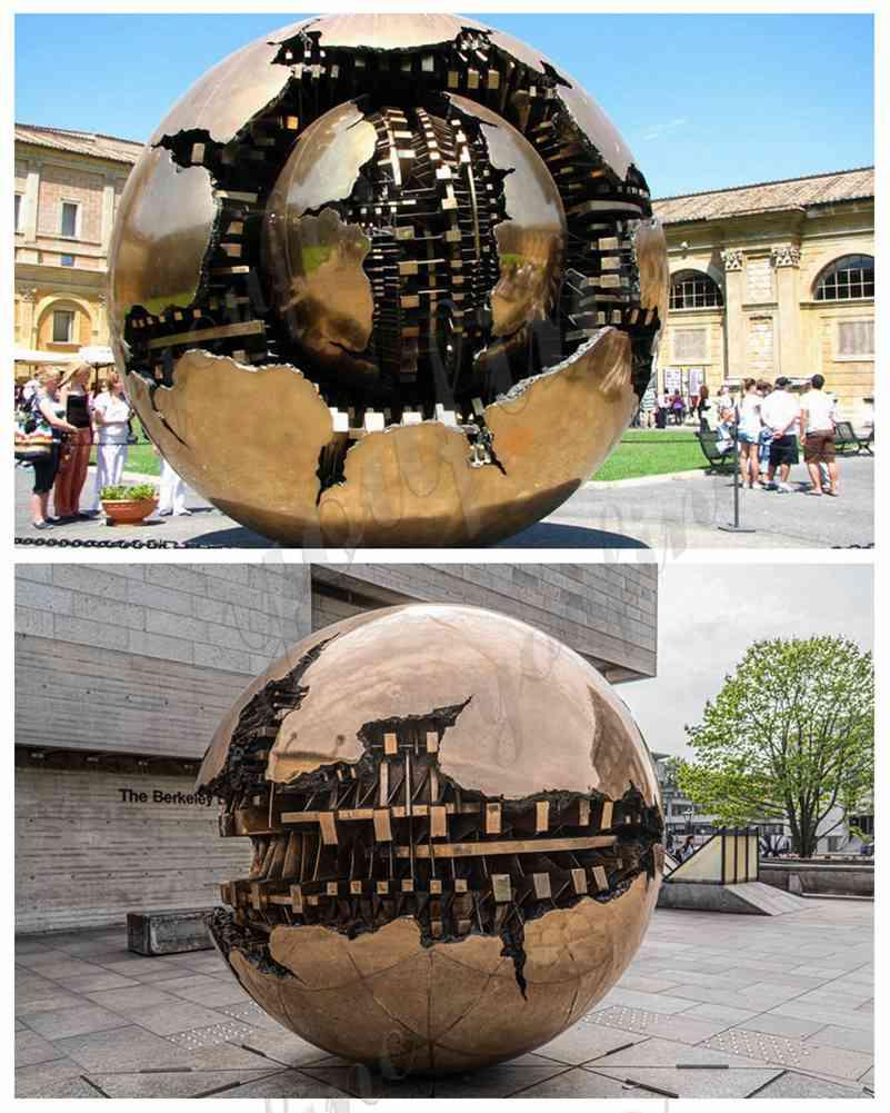 Sphere Within Sphere by Arnaldo Pomodoro