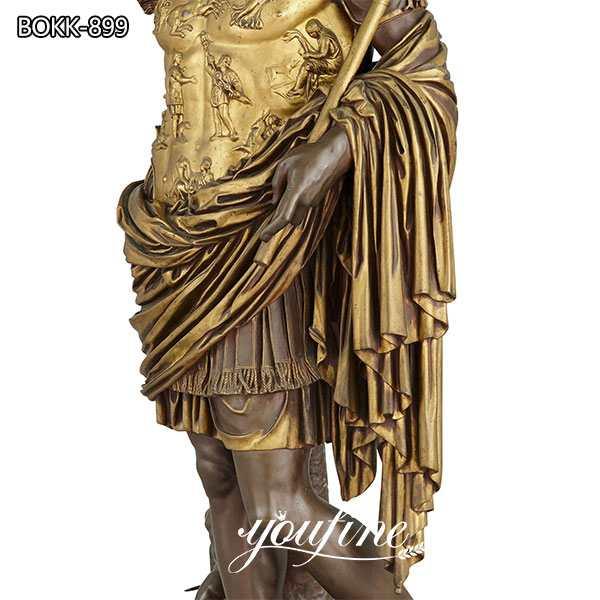 Augustus Caesar Bronze Sculpture