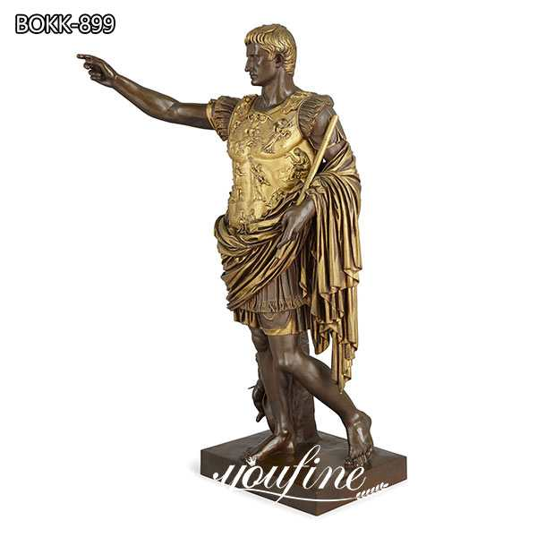 Bronze Augustus sculpture for sale