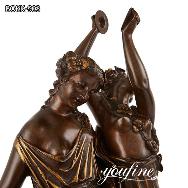 Bronze Group Dancers by S. Loveque