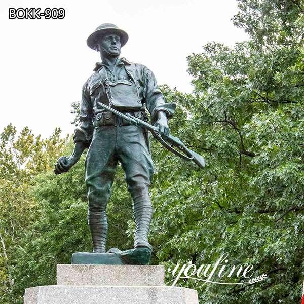 Bronze Highbridge Doughboy Statue