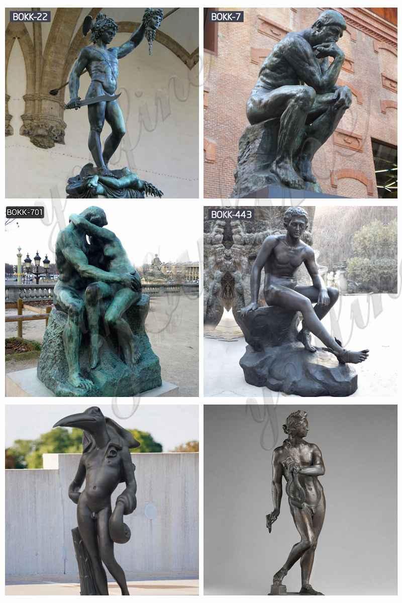 Famous bronze figure statue for sale
